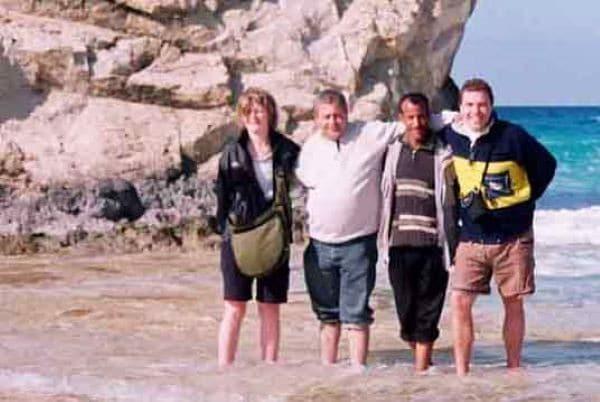 Les déserts Égyptiens I Delphine et Olivier Avril 2006