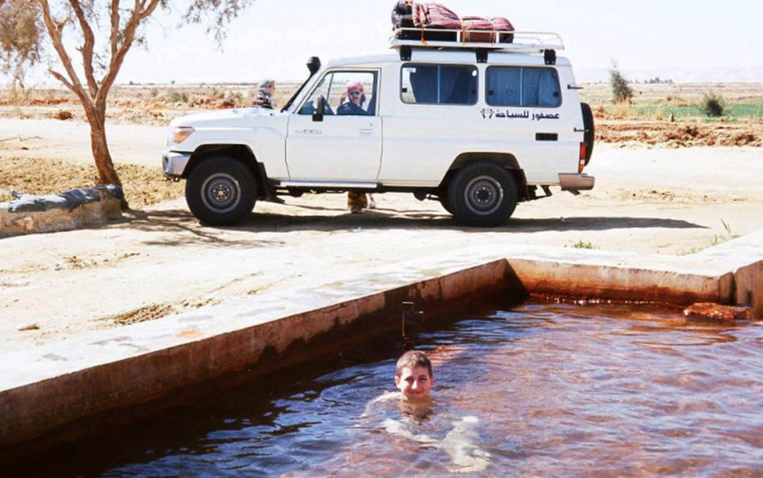 Désert Blanc et désert égyptien   Voyage Egypte   Oasis Égypte
