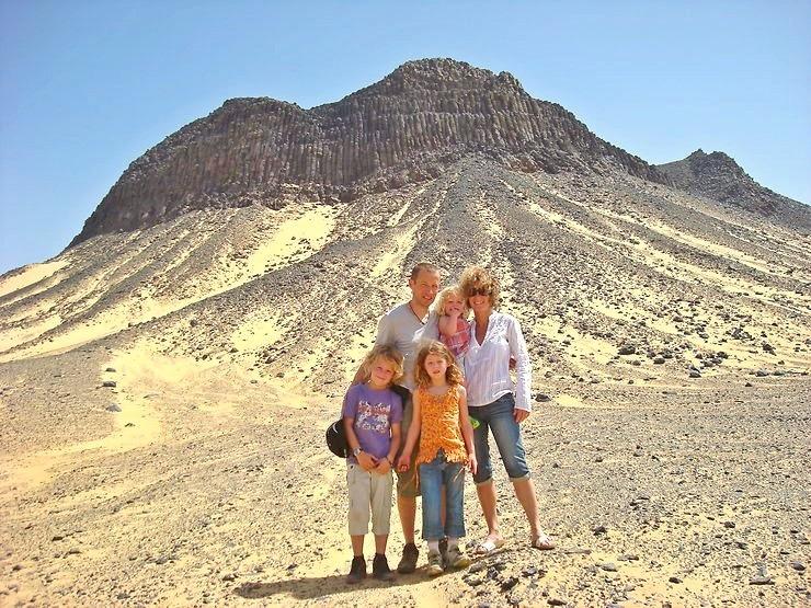 Voyage Egypte avec des enfants I Claire & Laurent et les enfants Septembre 2010