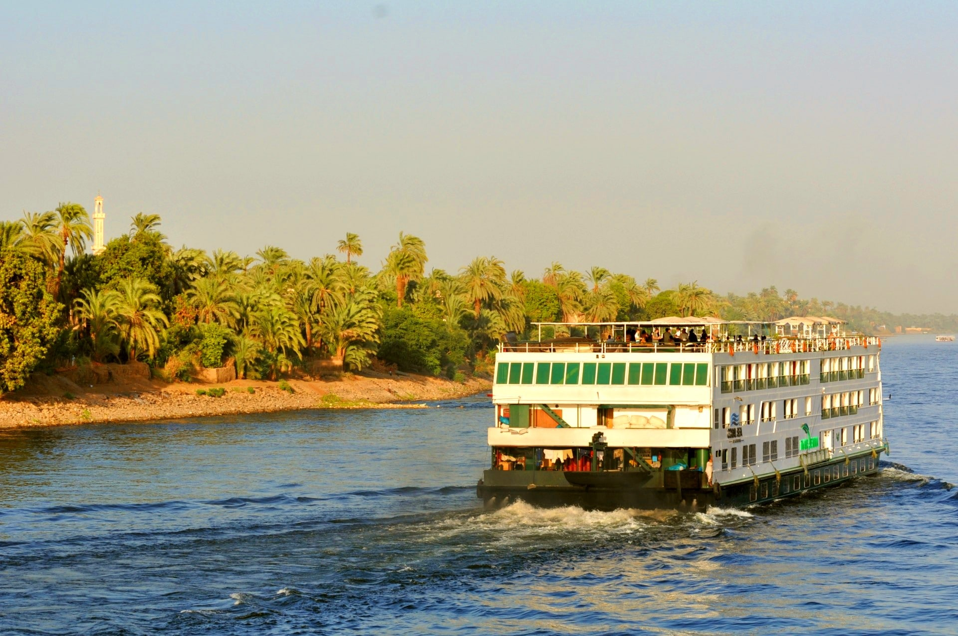 Croisière sur le Nil tout comprisI Paquita Beiso et le groupe Mars 2009