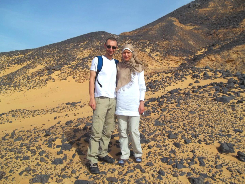 Le désert blanc égyptien  | Nous avons apprécié votre accueil.