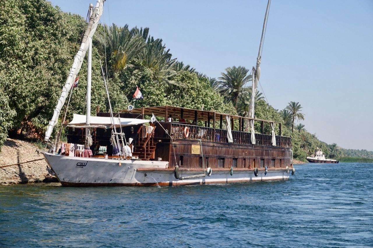 Croisière Dahabeya sur le Nil   J'ai l'habitude de voyager seule