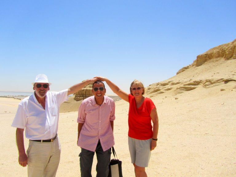 Voyage de luxe en Égypte I Élisabeth et René Dufrasne Mai 2107