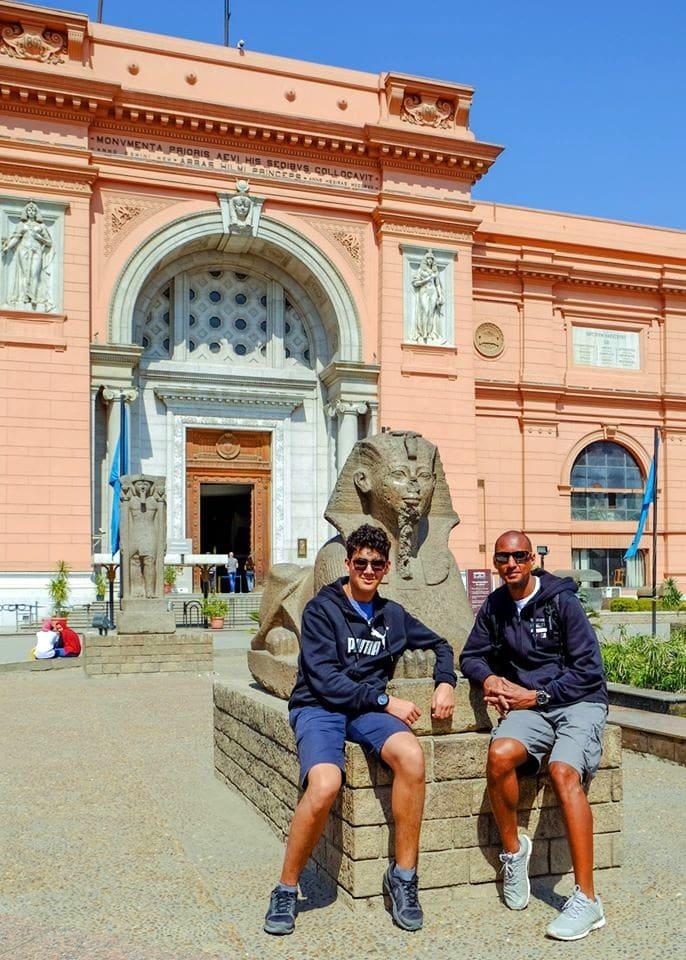 Voyage Egypte croisière I PATRICK et NOAH BERNARD Mars 2019