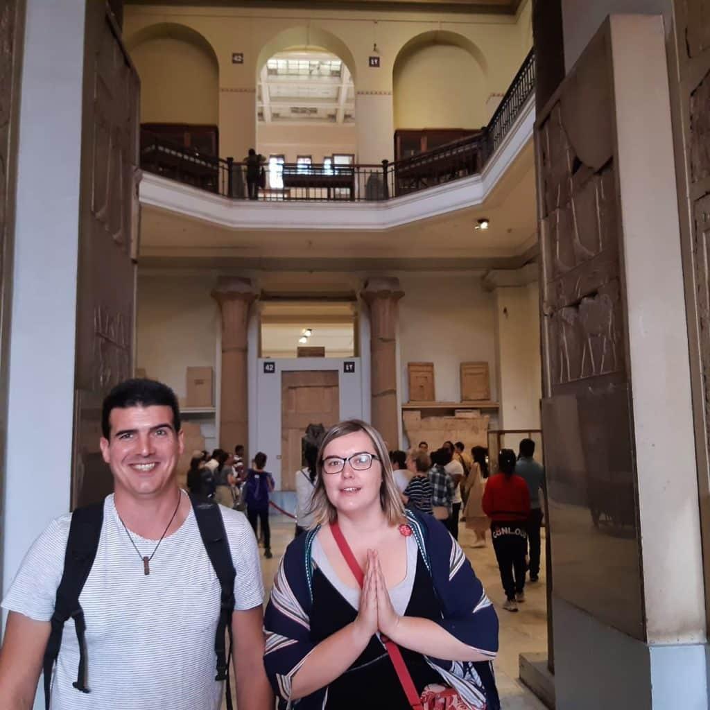 Egypt Vacances - Claire et Remi Desbiendras Novembre 2019