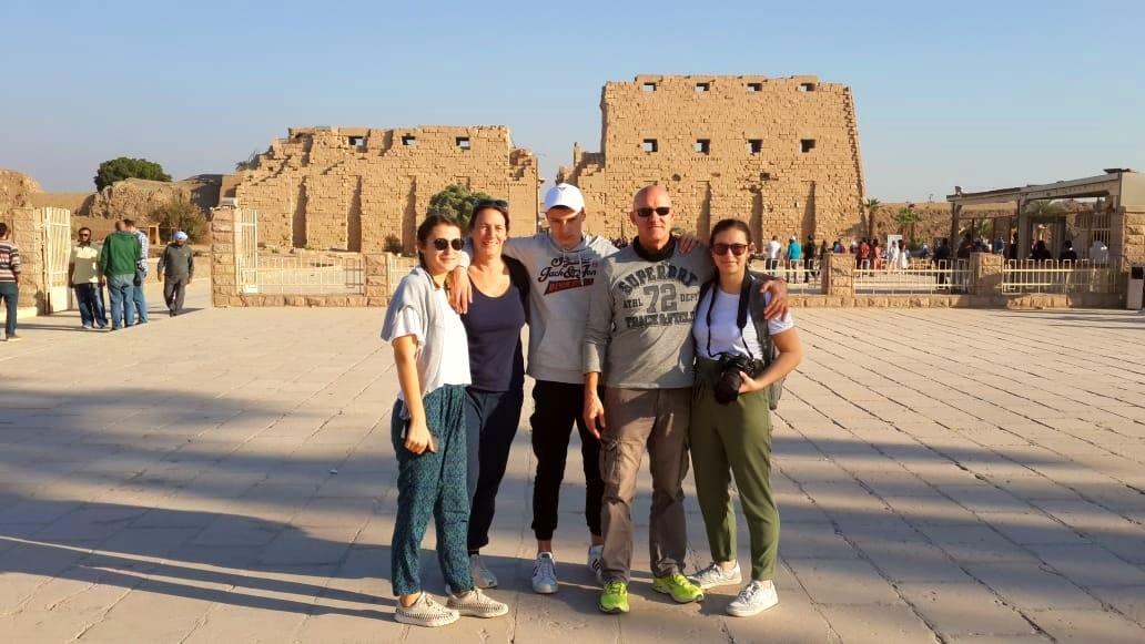 Offre voyage en Égypte I Eric et Olivia FROEHLY et les enfants I Décembre 2019