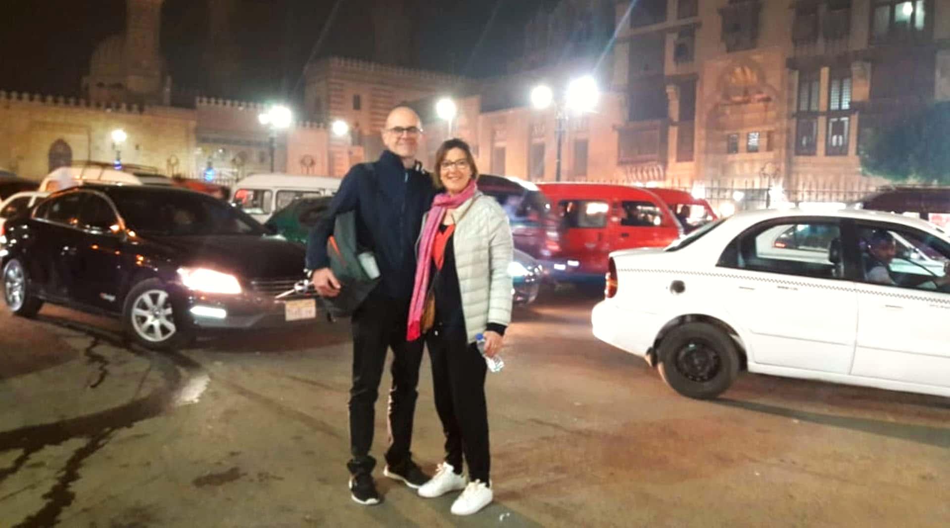 Vacances Egypt - Dalila et Marc Watts Décembre 2019