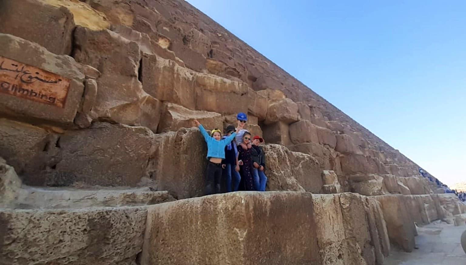 Promo Egypte I Thomas, June Ortega & les enfants Février 2020