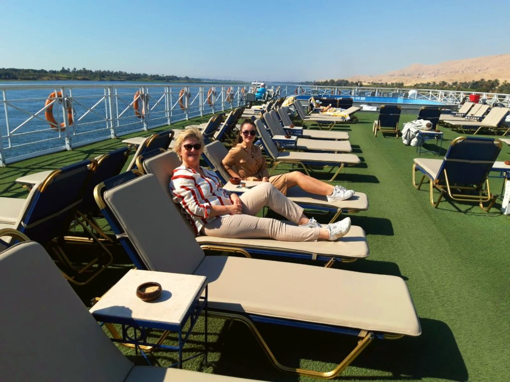 Croisière sur le Nil luxe, voyage Égypte, Guylaine et Ema Rasin 2020