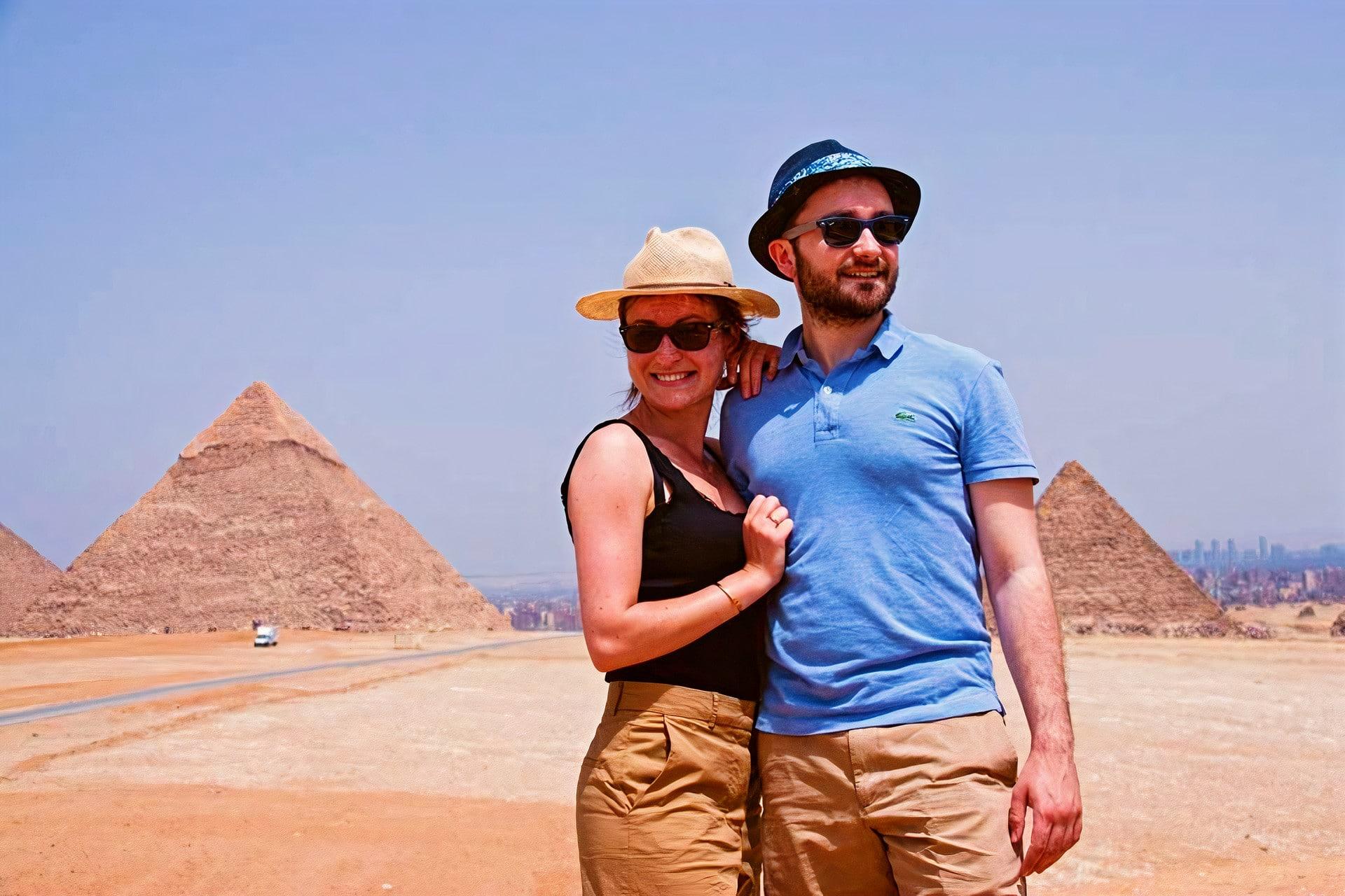 1 B - J 2 - Pyramides Gizeh - Croisiere sur le Nil et Abou Simbel