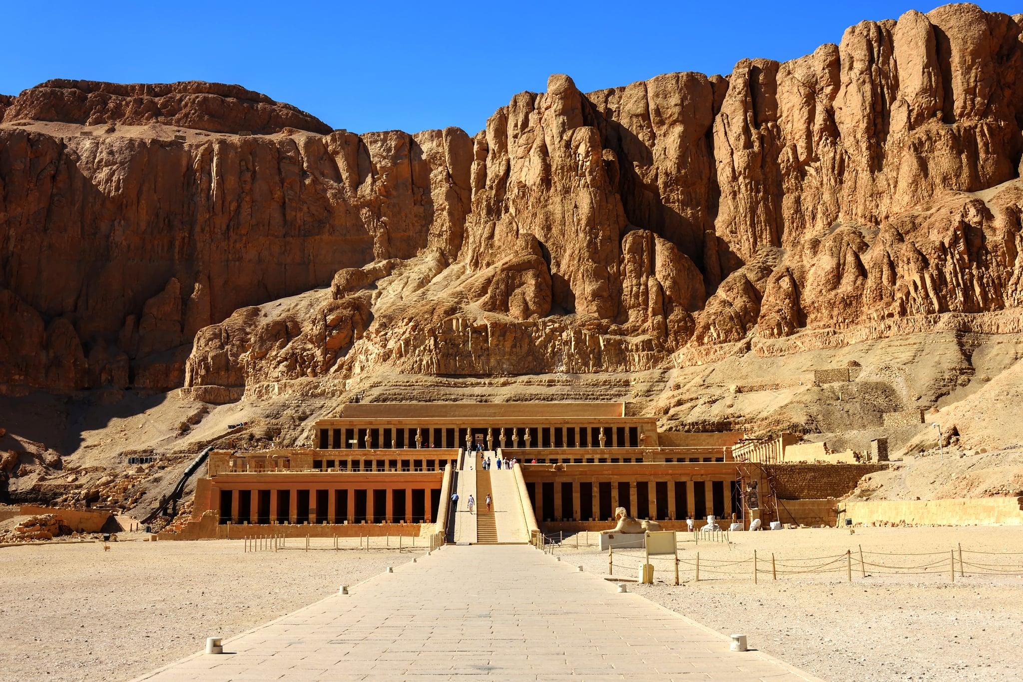 Temple la reine Hatchepsout