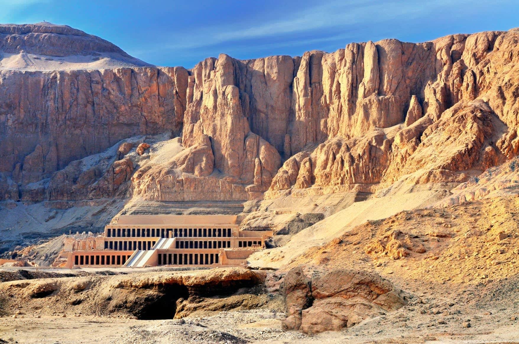 Temple Hatchepsout - Actulaite Egypte